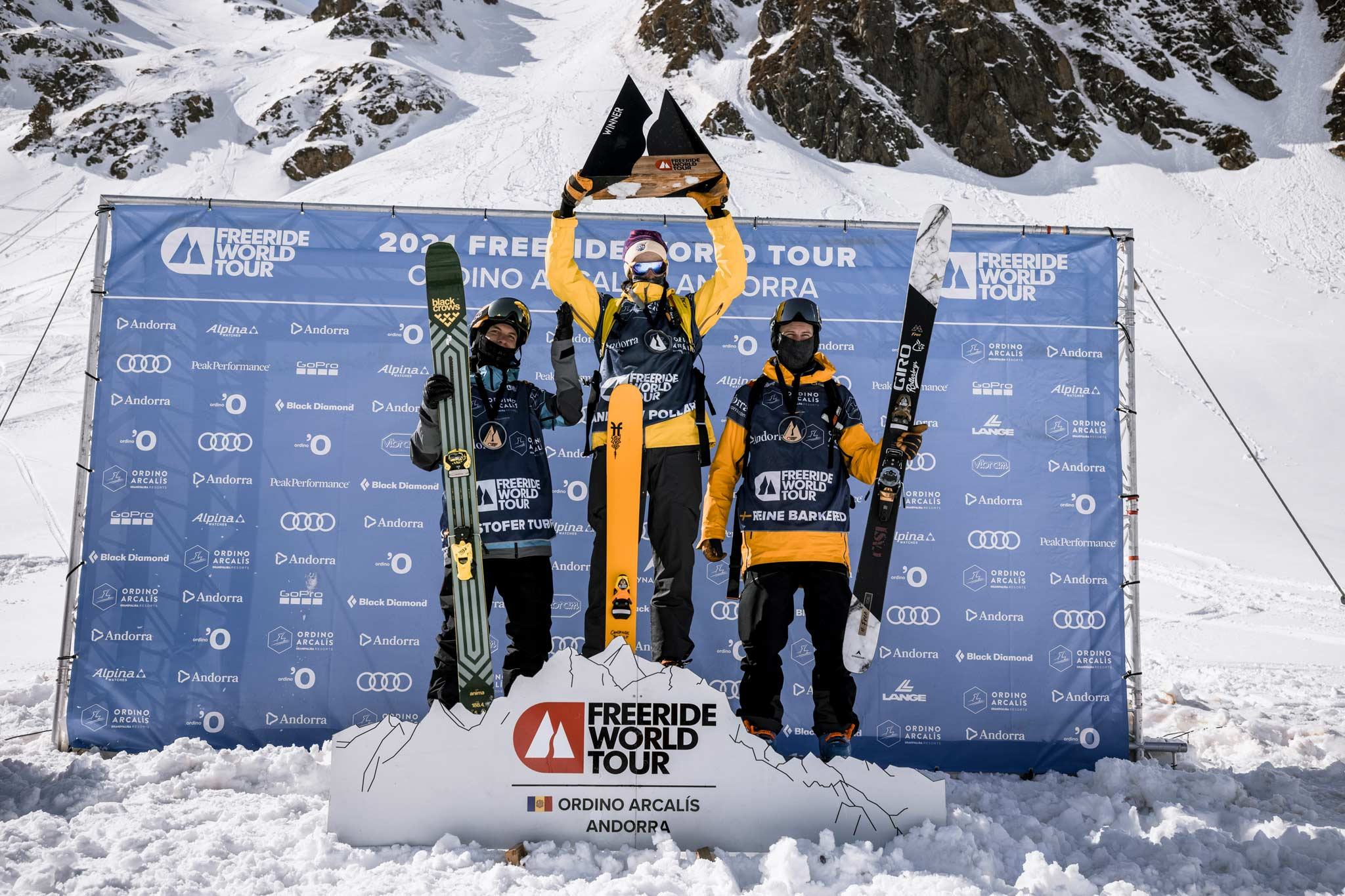 Freeride World Tour 2021 #2 in Andorra: Die Ergebnisse & Winning Runs