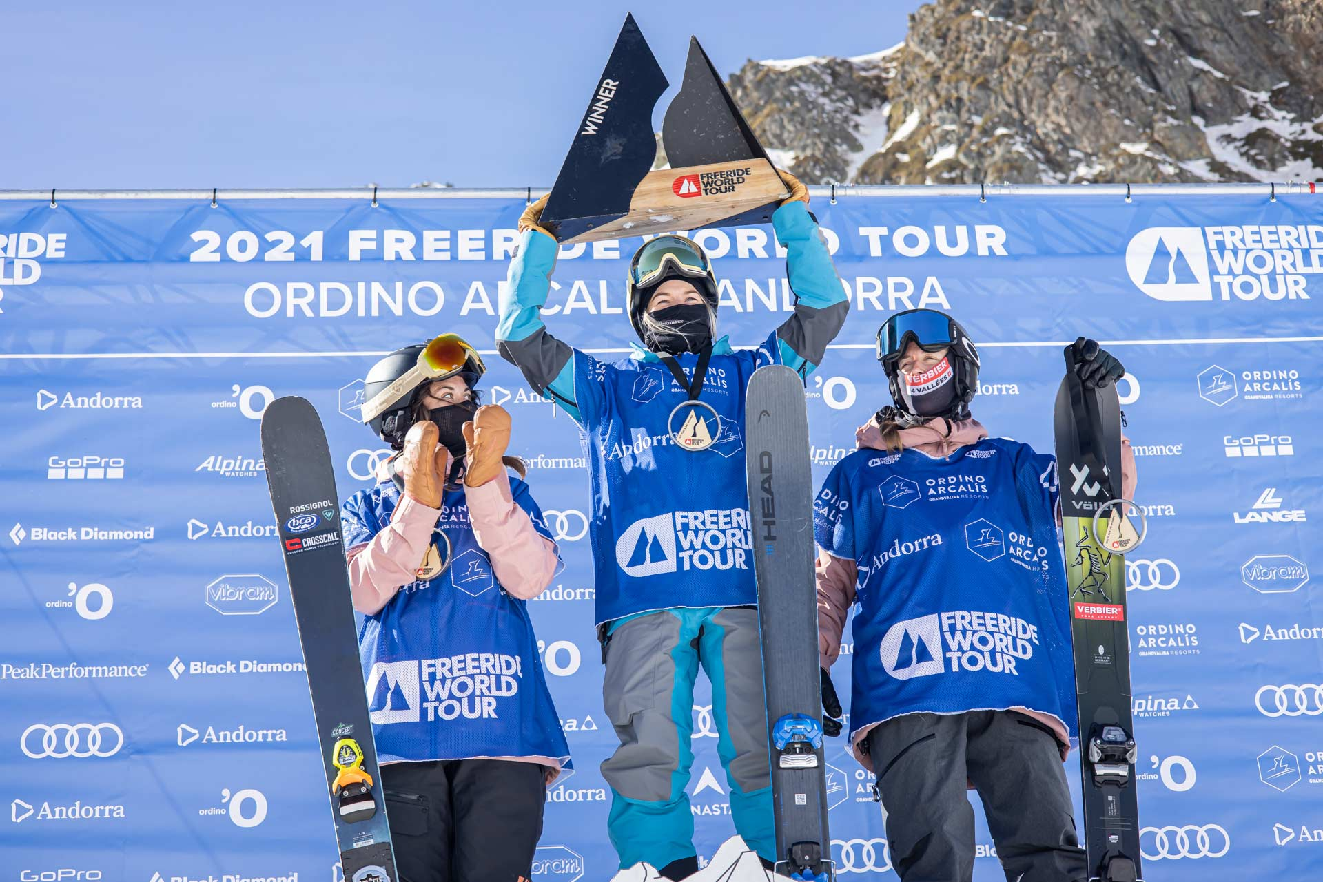 Freeride World Tour 2021 #1 in Andorra: Die Ergebnisse & Winning Runs