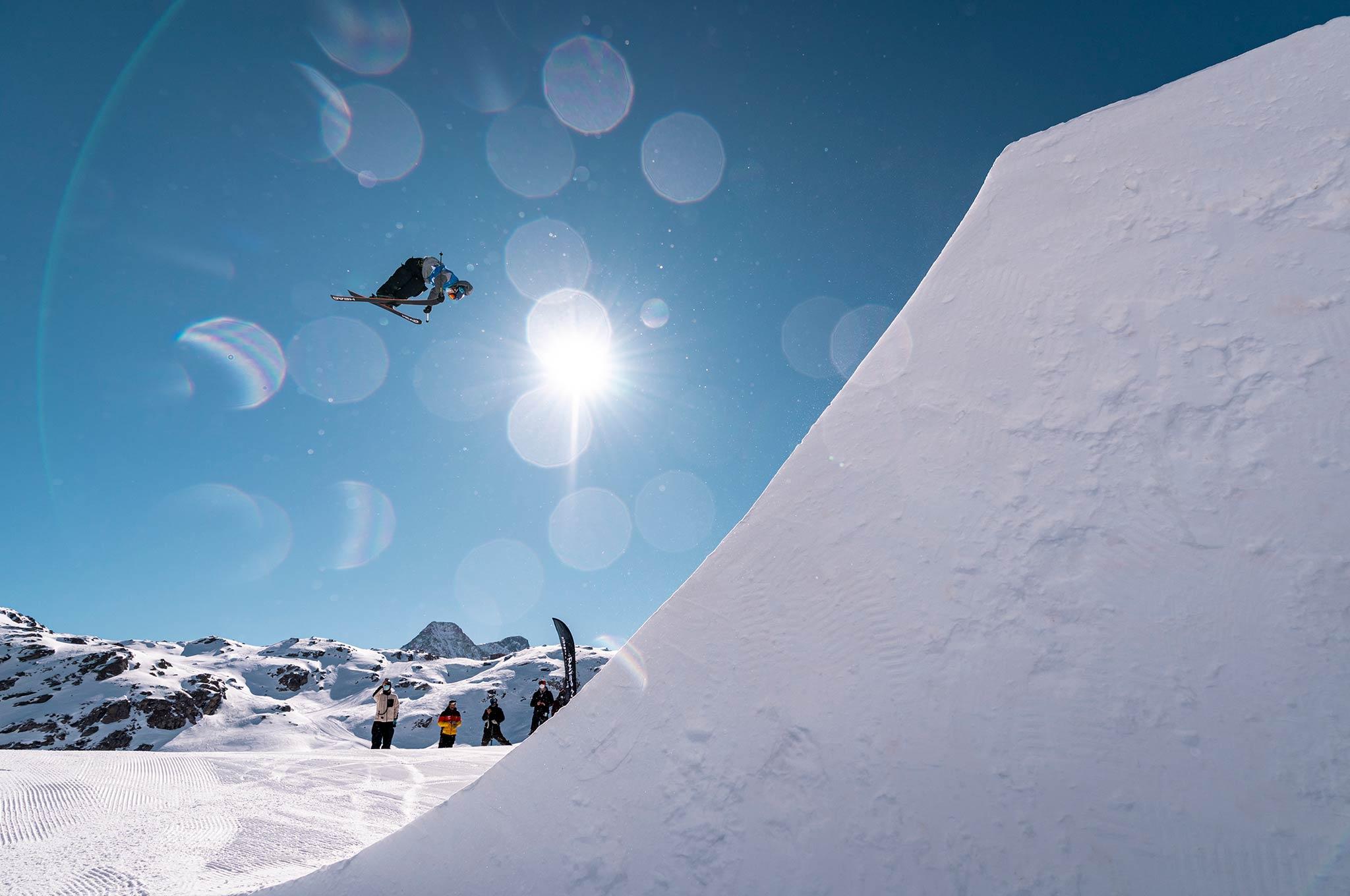 Corvatsch Slopestyle Weltcup 2021 - Foto: Filip Zuan