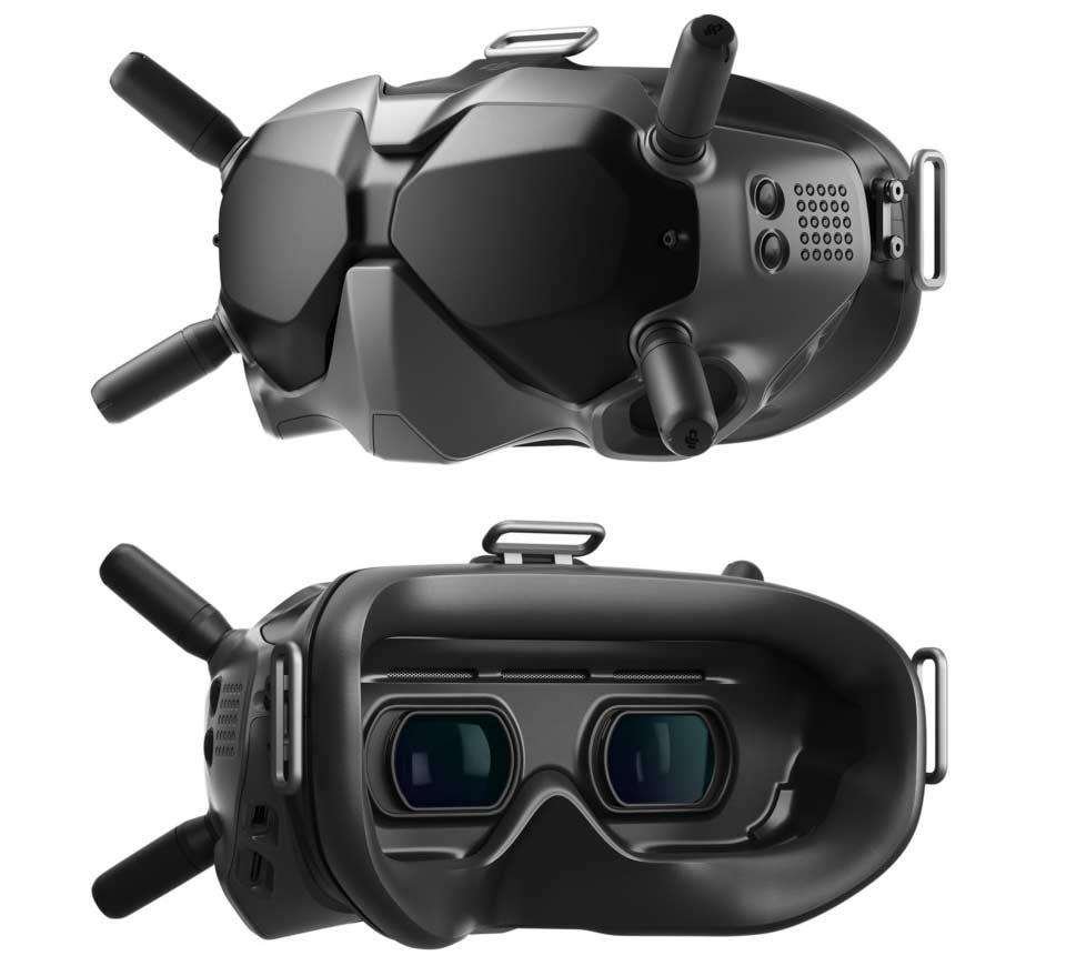 Die Videobrille für die DJI FPV Drohne für den Piloten.
