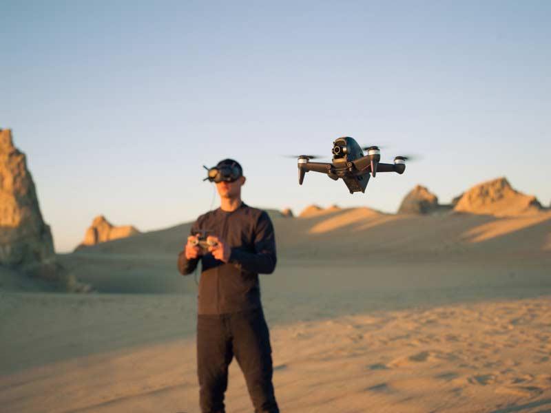 DJI stellt FPV Drohne vor | Prime Skiing