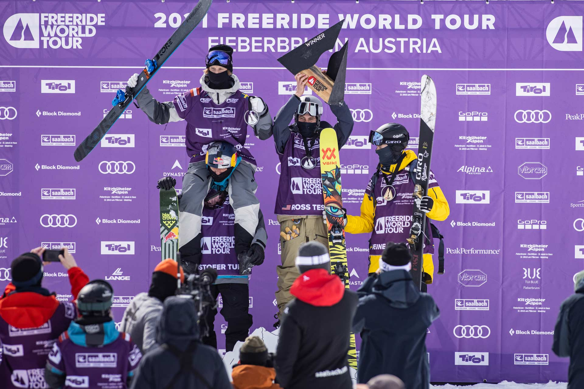 Freeride World Tour 2021 #3 in Fieberbrunn: Die Ergebnisse & Winning Runs