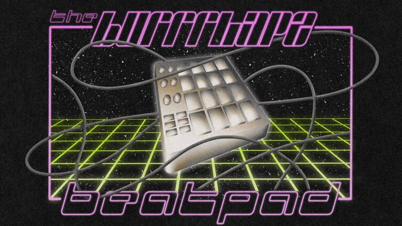 """Beat Pad"" – Pillow-Art von Burrrlapz"