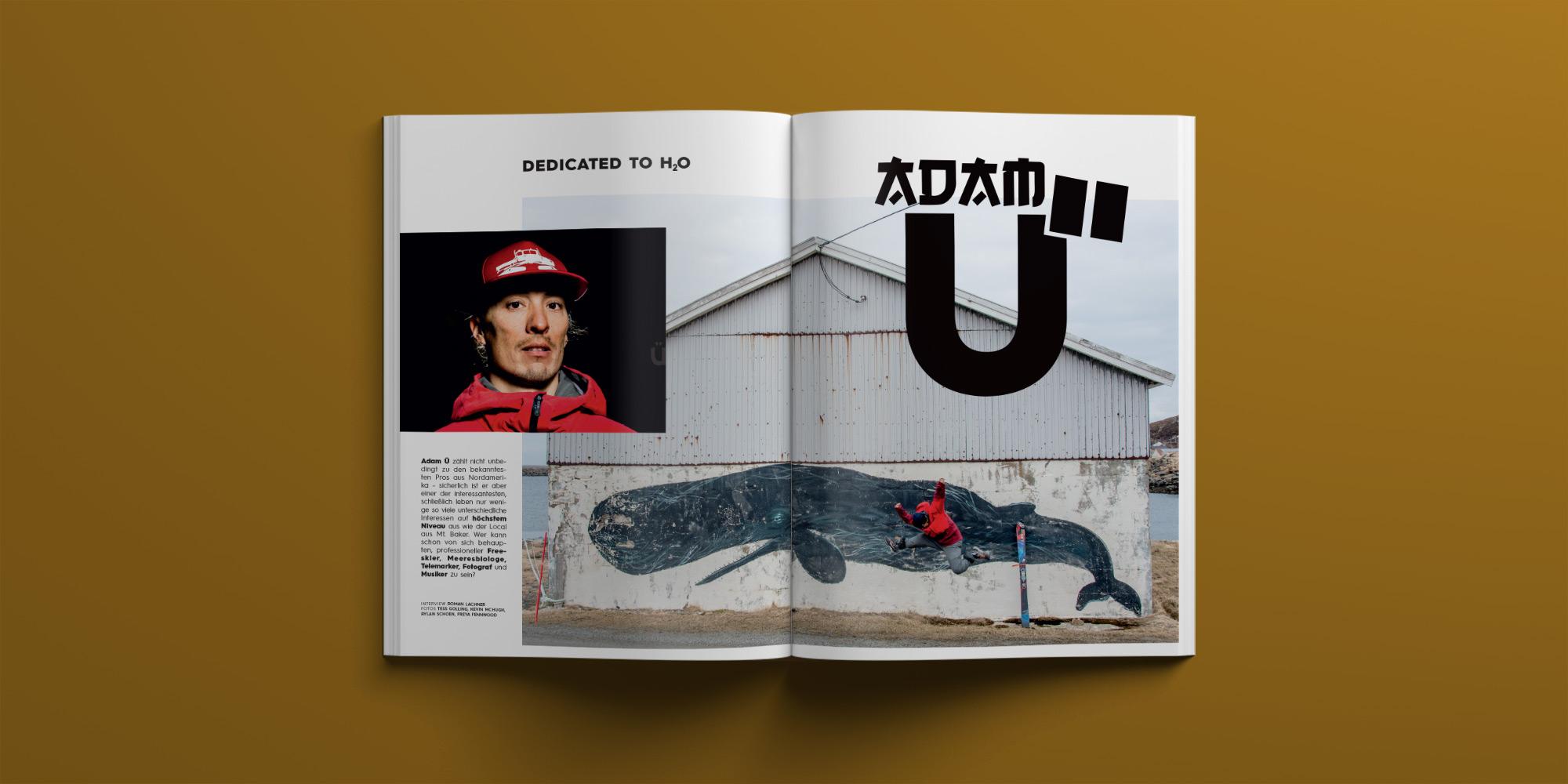 PRIME Skiing Magazin #30 – Interview: Adam Ü