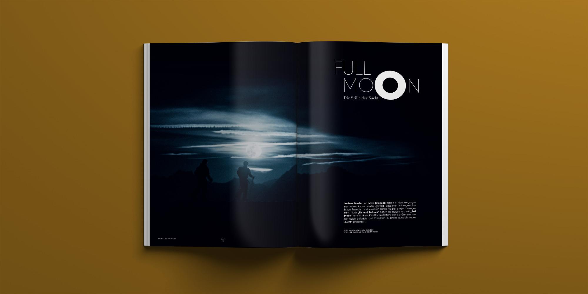 PRIME Skiing Magazin #30 – Full Moon Skiing