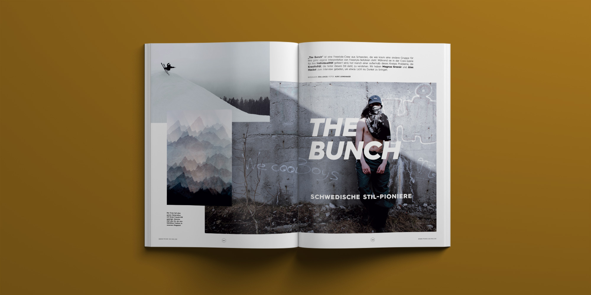 PRIME Skiing Magazin #30 – Interview: The Bunch Crew
