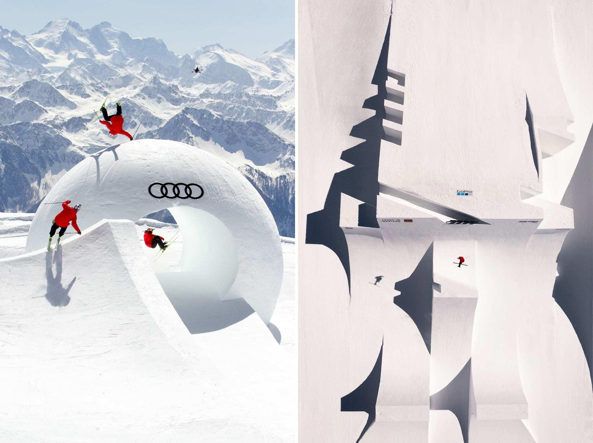 Nicht ganz unerwartet wählten die Rider den Schweden Jesper Tjäder zum kreativsten Fahrer der Audi Nines 2021 - Fotos: Ethan Stone (links), Flo Breitenberger (rechts)
