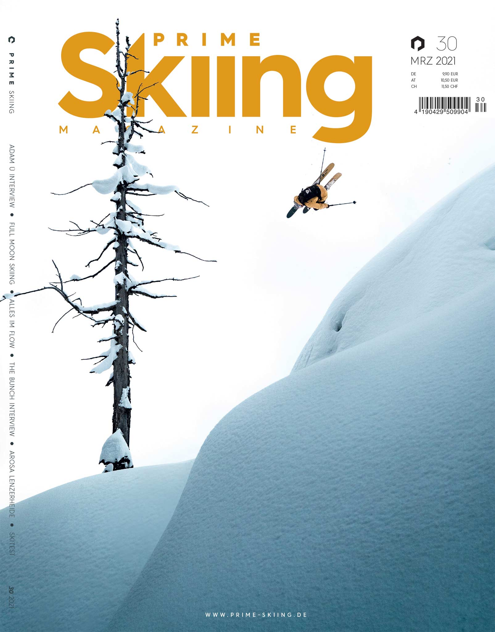 PRIME Skiing #30 – Cover