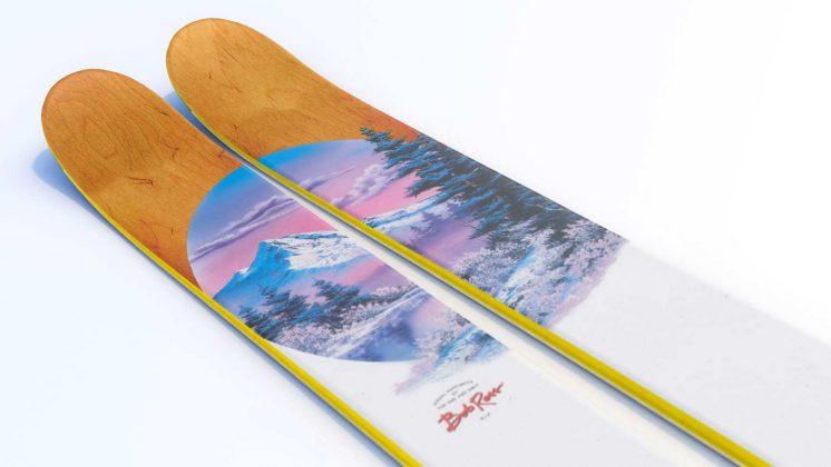 J-Skis - The Allplay Bob Ross x J Collab 2022