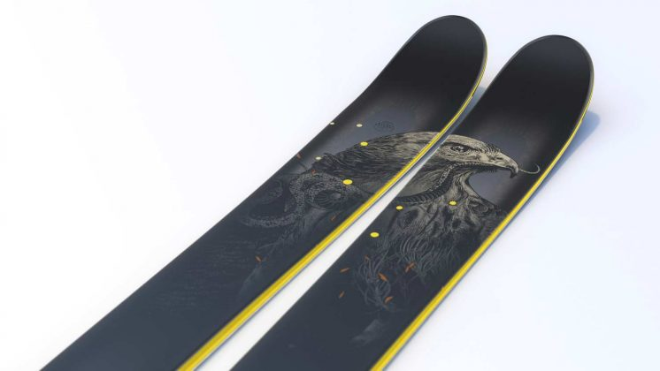J-Skis - The Hotshot Hawkeye 2022