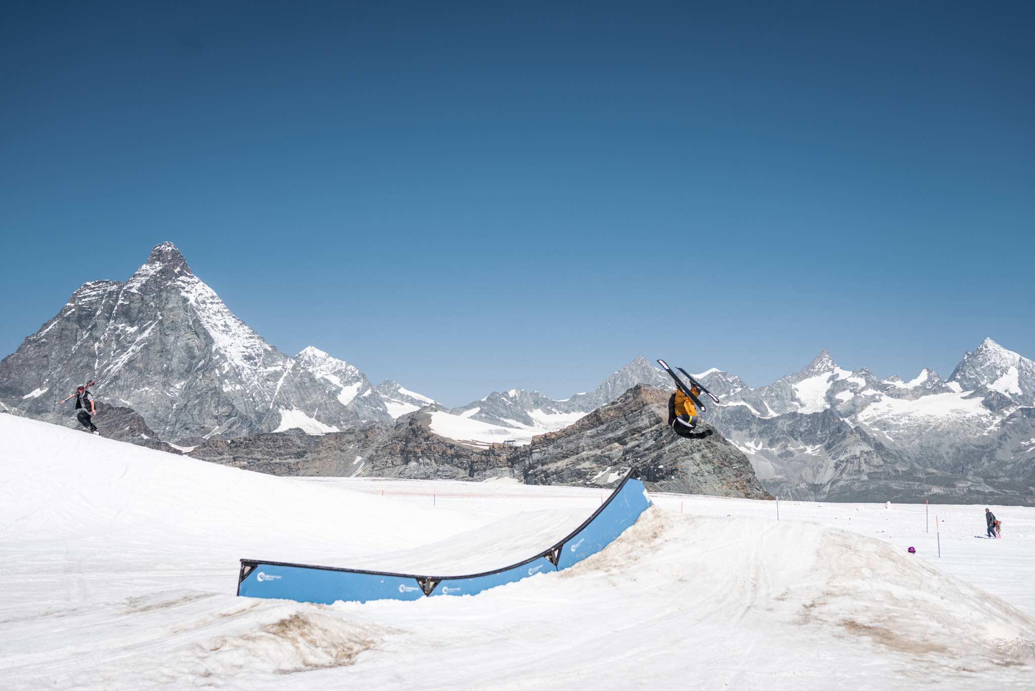 Foto: Snowpark Zermatt - Rider: Unknown