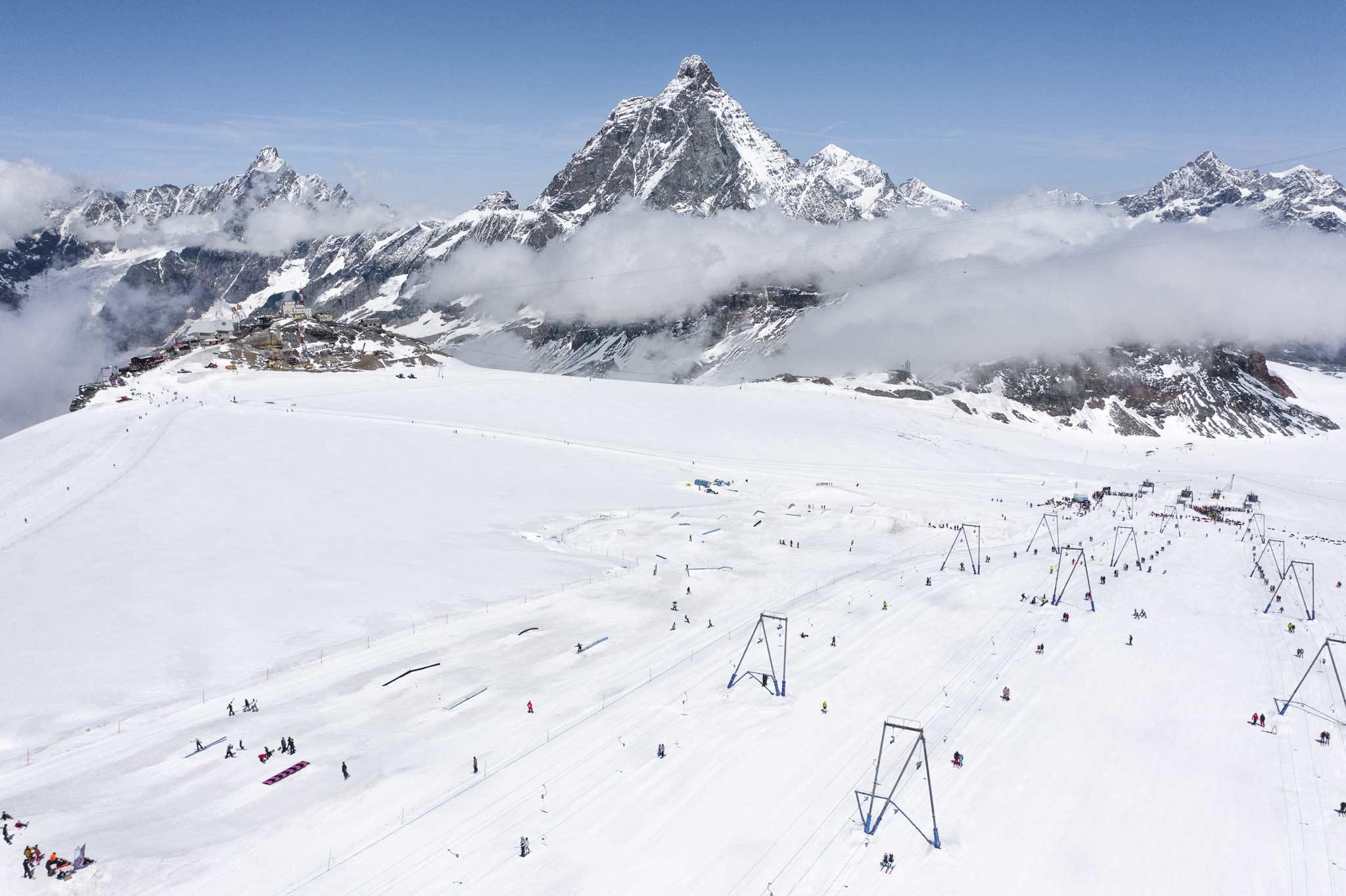 Foto: Snowpark Zermatt