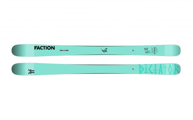 Faction Skis - Dictator 1.0X 2022