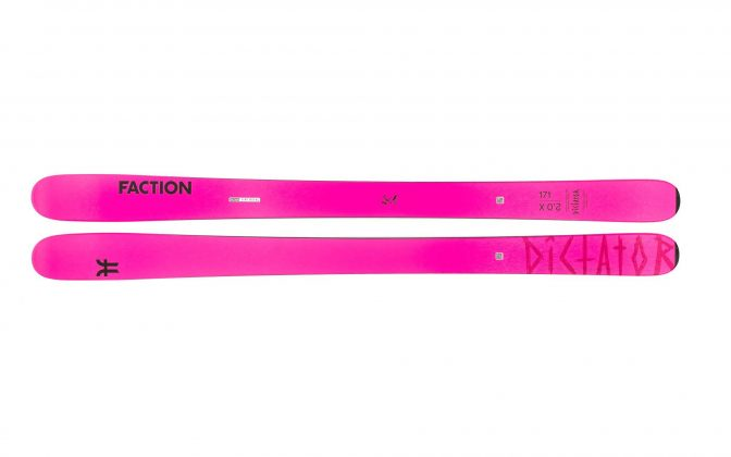 Faction Skis - Dictator 2.0X 2022
