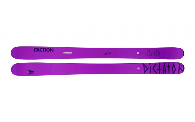 Faction Skis - Dictator 3.0X 2022
