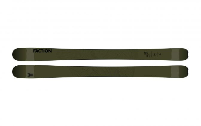 Faction Skis - Agent 4.0 2022