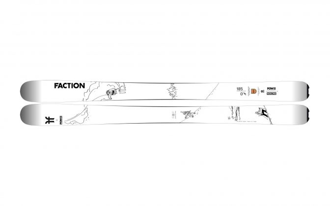 Faction Skis - Agent 4.0 POW Collab 2022