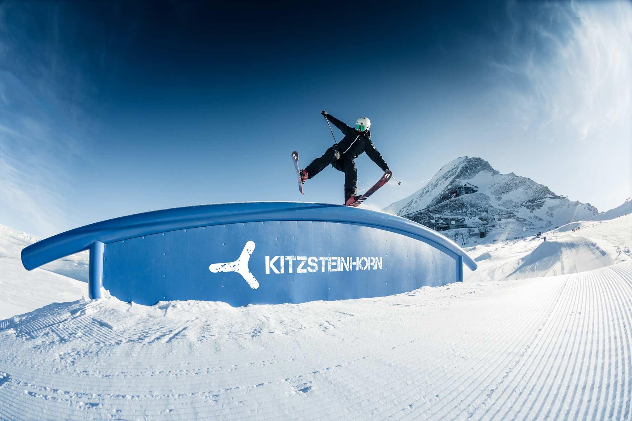 Ab Dezember 2021 öffnen weitere Freestyle-Areale am Kitzsteinhorn ihre Tore für Freeskier und Snowboarder! - Foto: Markus Rohrbacher